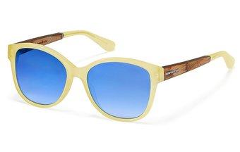 Rosenaus Sunglasses (wood-acetate) (orange crystal/blue)
