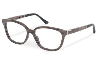 Theresien Optical (51-15-135) (wood) (black oak)
