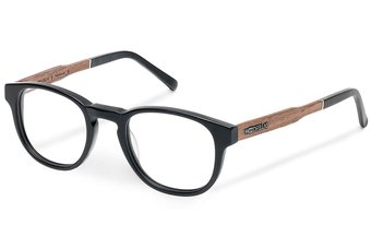 Bogenhausen Optical (49-21-145) (wood-bioceta) (black)