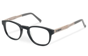 Bogenhausen Optical (49-21-145) (wood-acetate) (chalk oak/black)