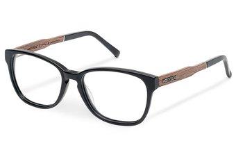 Sendling Optical Wood-Acetate (50-15-140) (walnut/black)