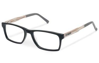 Maximilian Optical Wood-Acetate (55-18-145) (chalk oak/black)