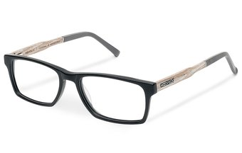 Maximilian Optical Wood-Acetate (55-18-145) (black)