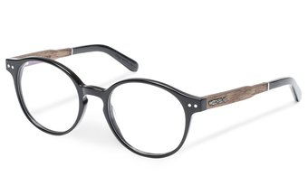 Solln Optical Wood-Acetate (49-19-140) (black)