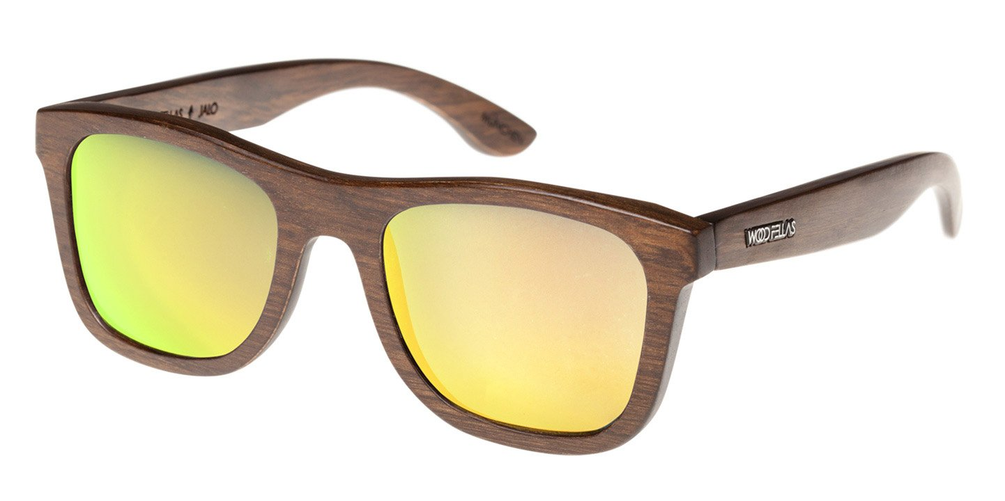 Sunglasses Jalo Mirror (wood) (brown/gold)