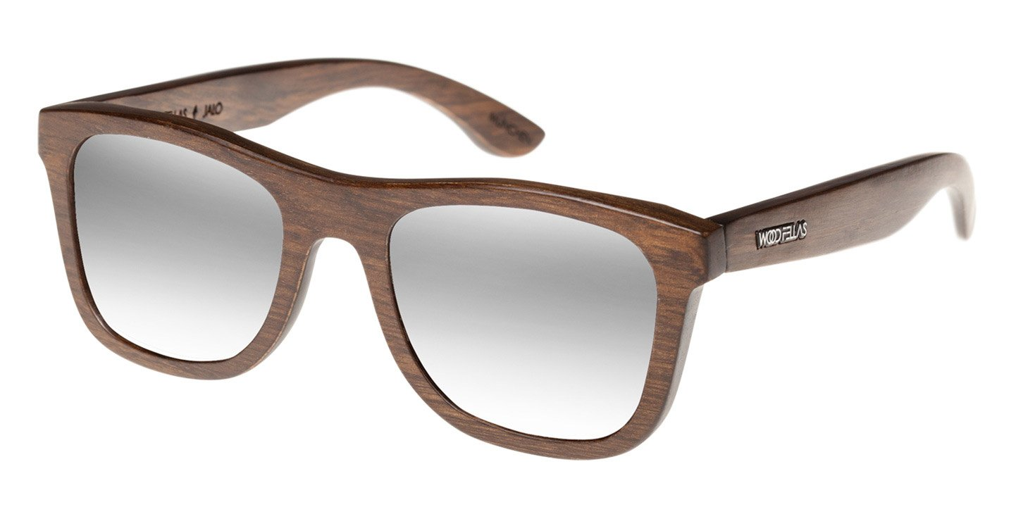 Sunglasses Jalo Mirror (wood) (brown/silver)