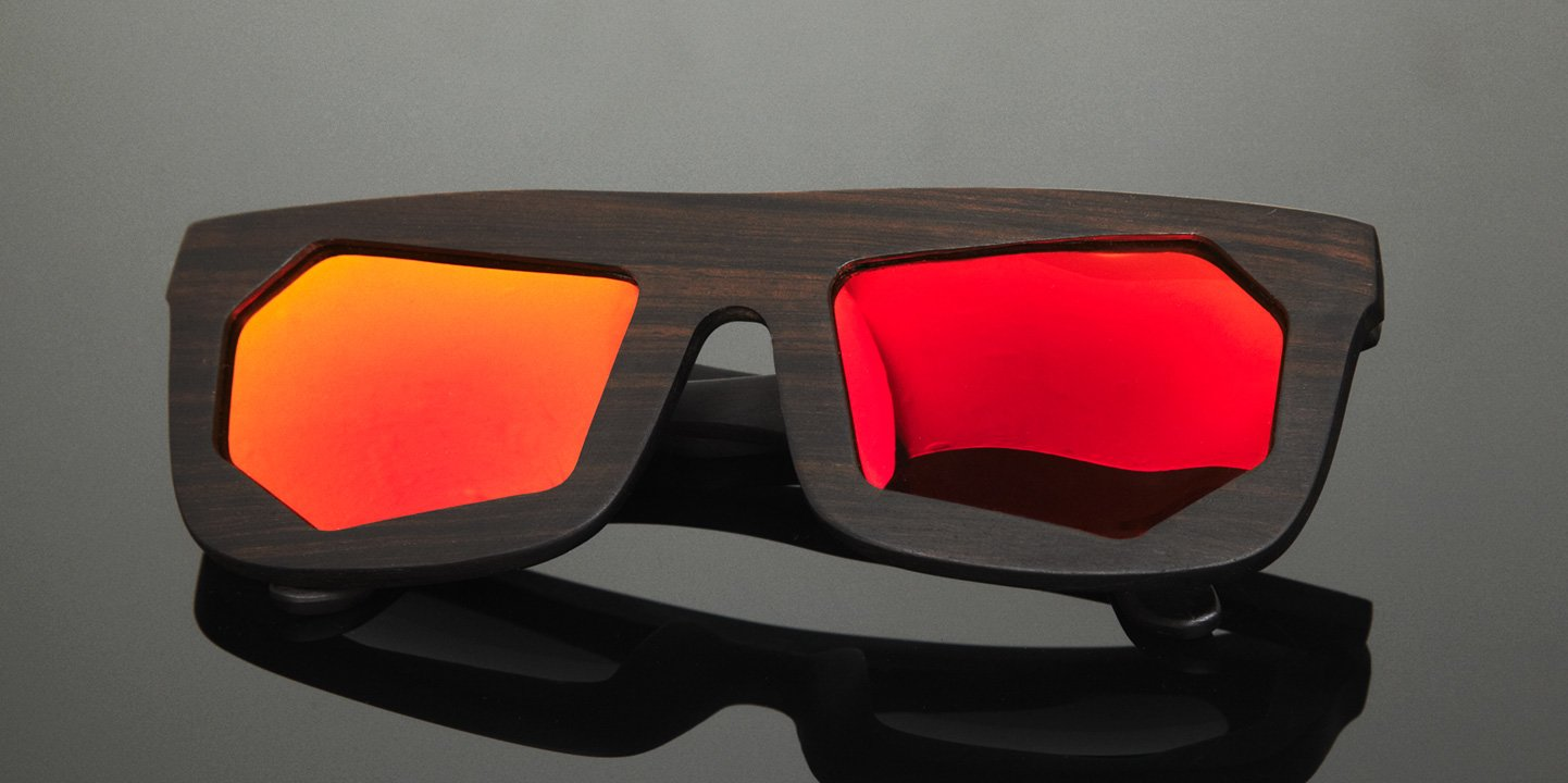 Sunglasses WF x Montaigne Street (wood) (ebony)