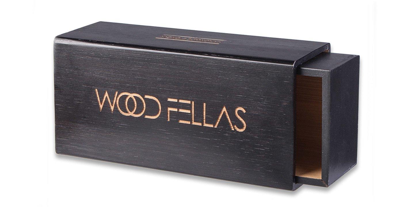 Slide Case (wood) (black)