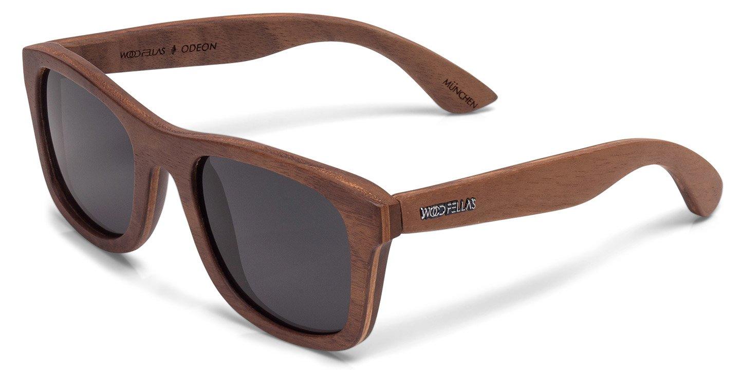 Odeon Sunglasses (wood) (walnut/grey)