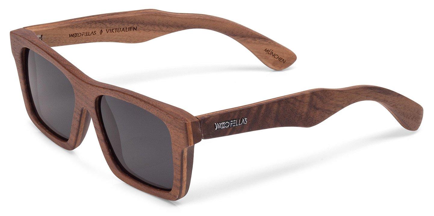 Viktualien Sunglasses (wood) (walnut/grey)