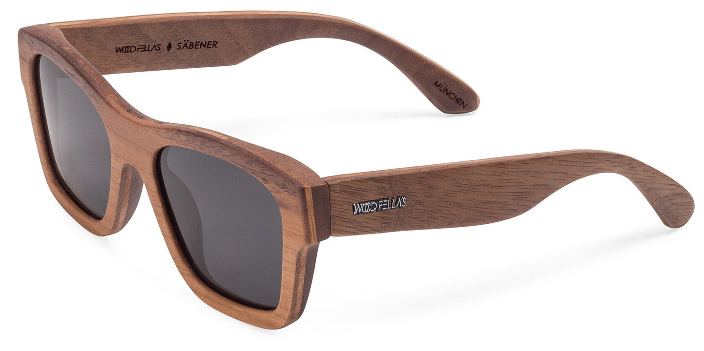 Säbener Sunglasses (wood) (walnut/grey)
