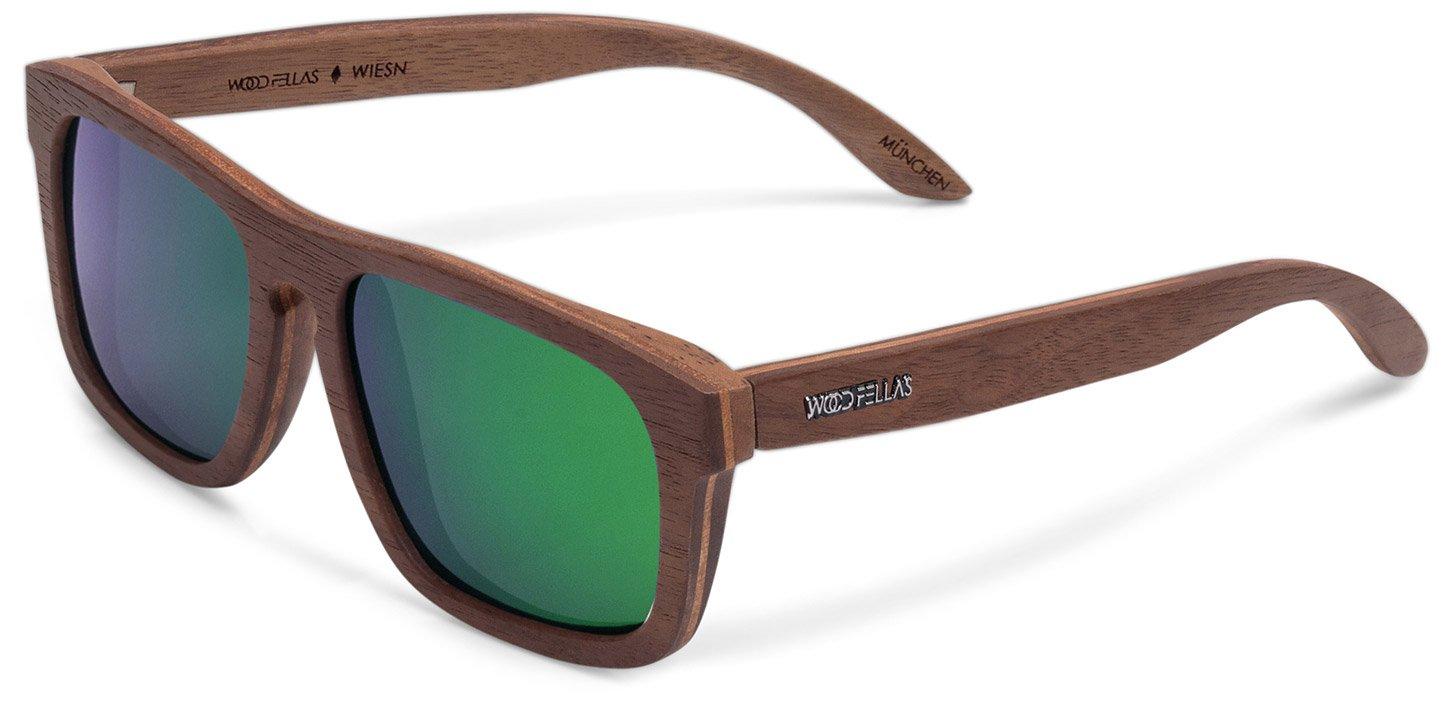 Wiesn Sunglasses (wood) (walnut/green)