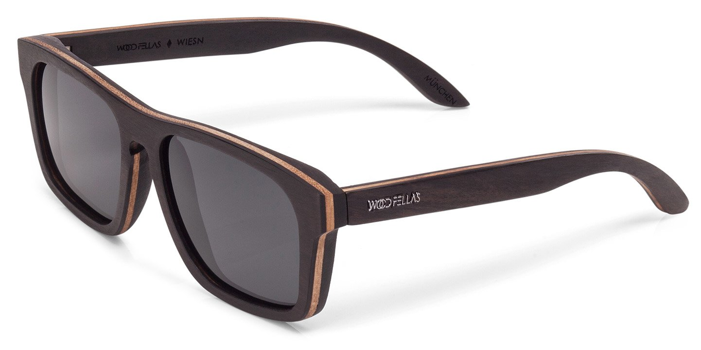 Wiesn Sunglasses (wood) (ebony/grey)