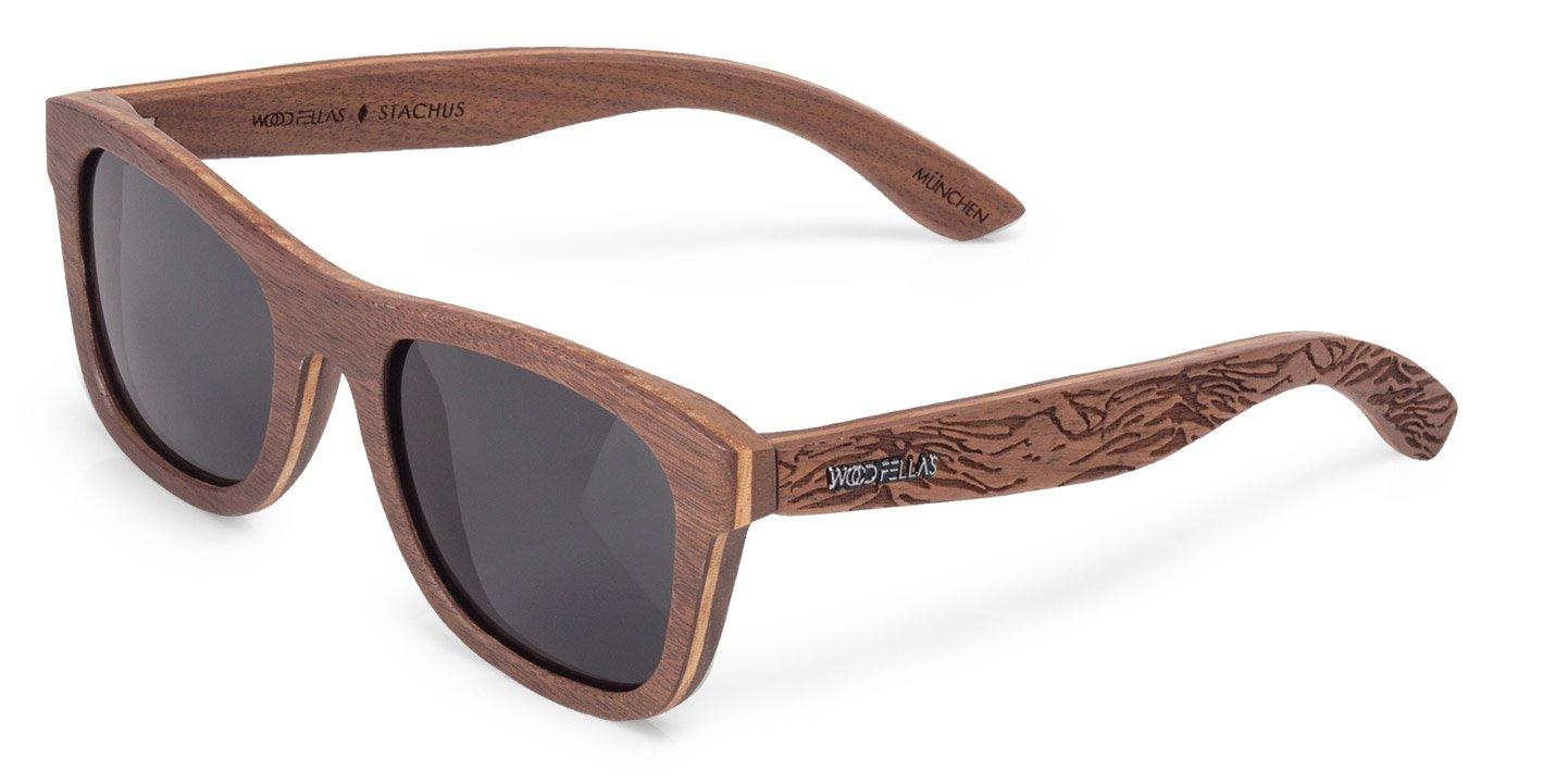 Stachus (SE) Sunglasses (wood) (walnut/grey)