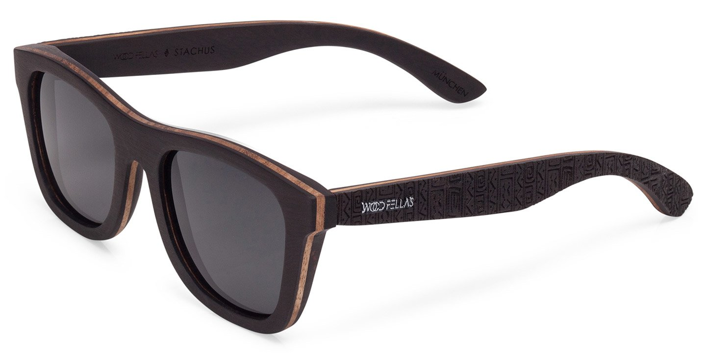 Stachus (SE) Sunglasses (wood) (ebony/ethno)