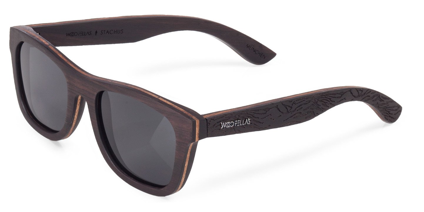 Stachus (SE) Sunglasses (wood) (ebony/berge)