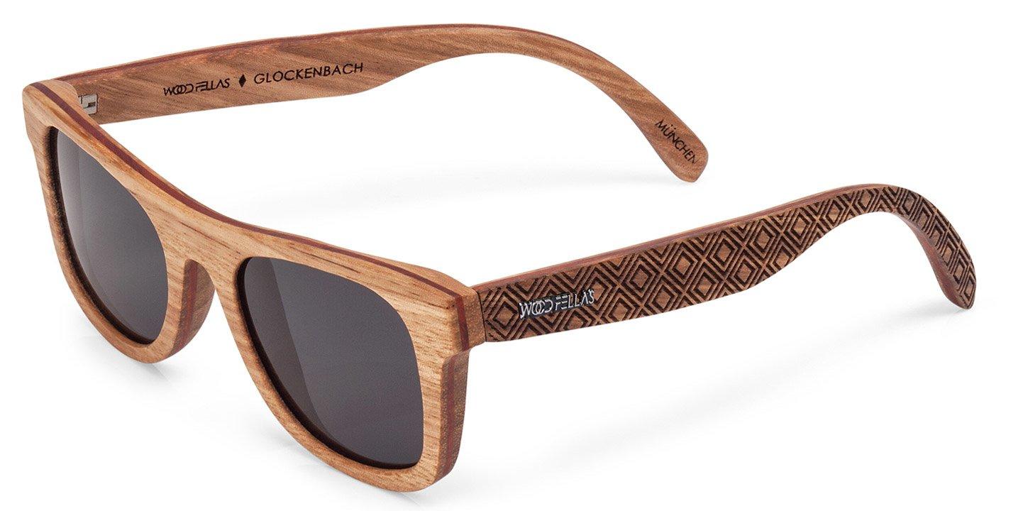 Glockenbach (SE) Sunglasses (wood) (zebrano/karo)