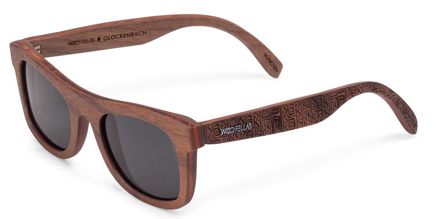 Glockenbach (SE) Sunglasses (wood) (walnut/ethno)
