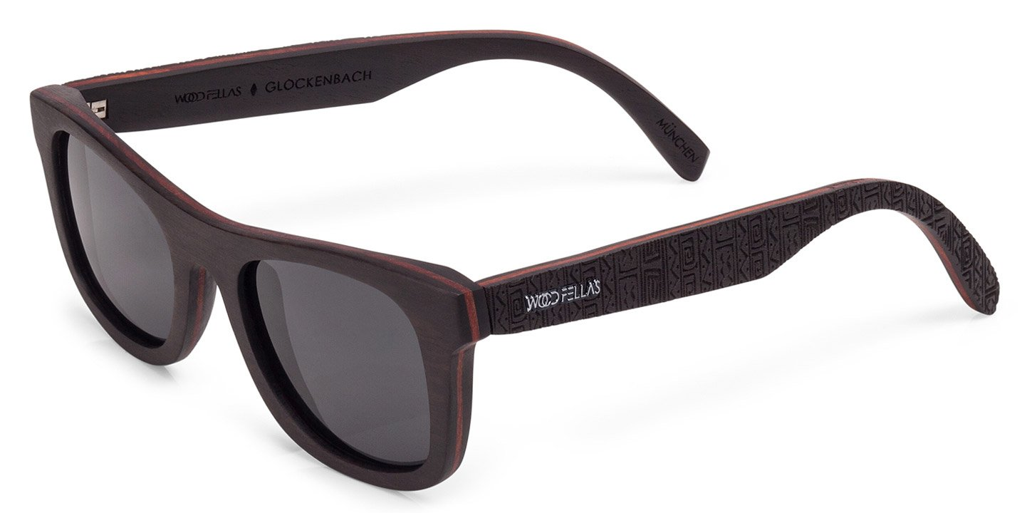 Glockenbach (SE) Sunglasses (wood) (ebony/ethno)