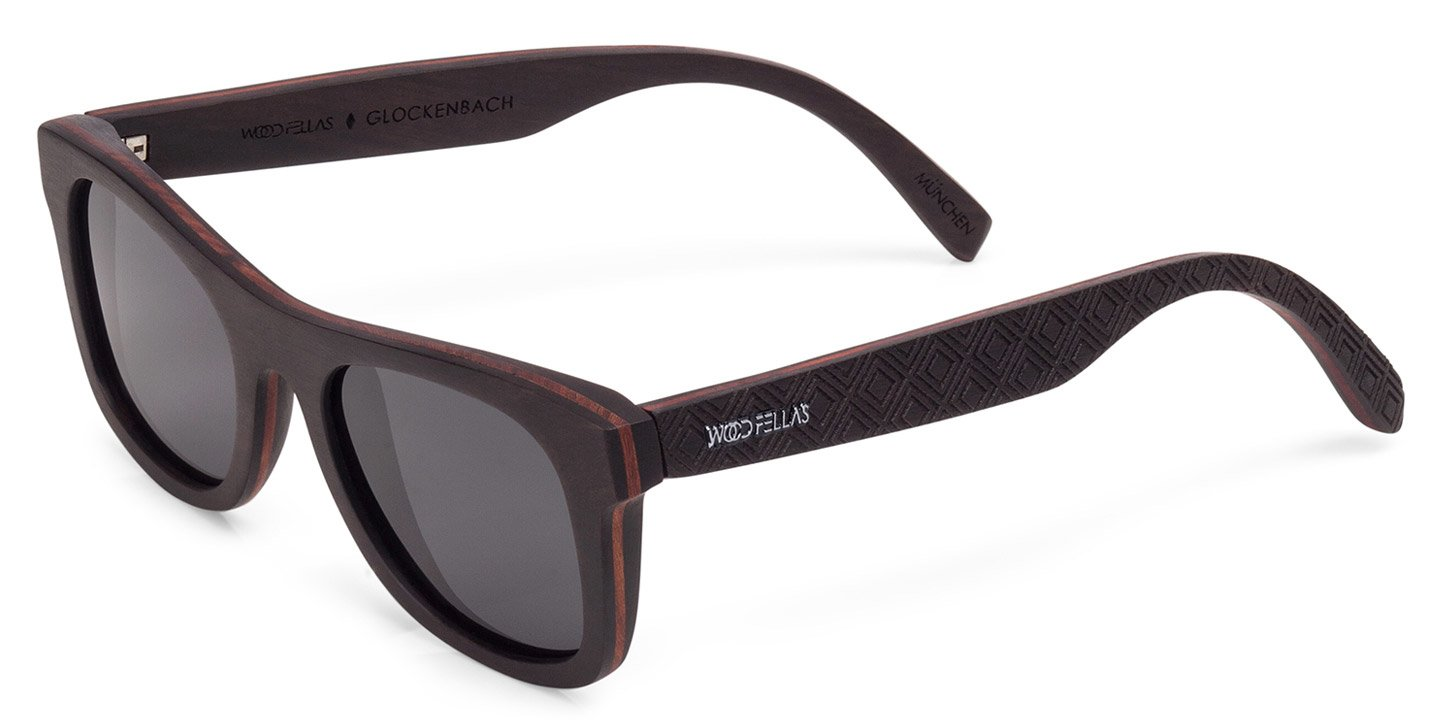 Glockenbach (SE) Sunglasses (wood) (ebony/grey)