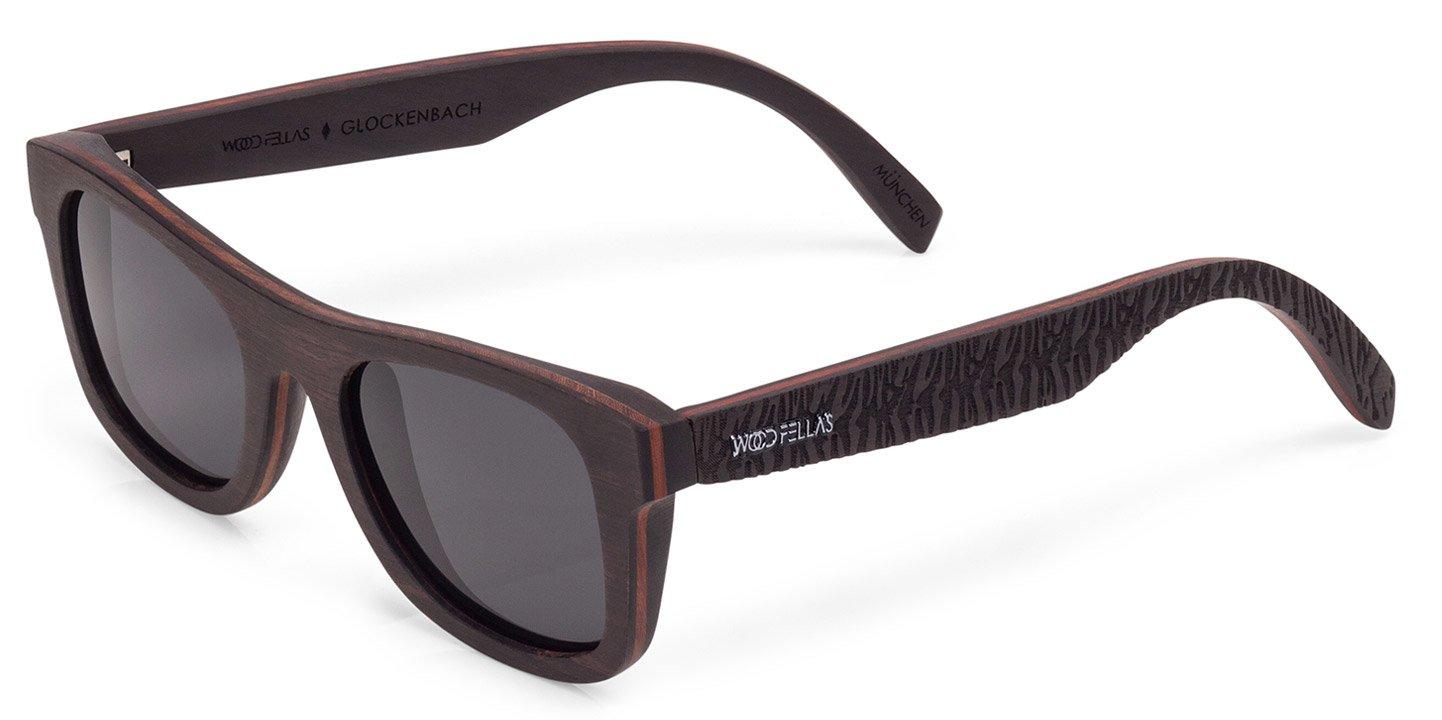 Glockenbach (SE) Sunglasses (wood) (ebony/grey)