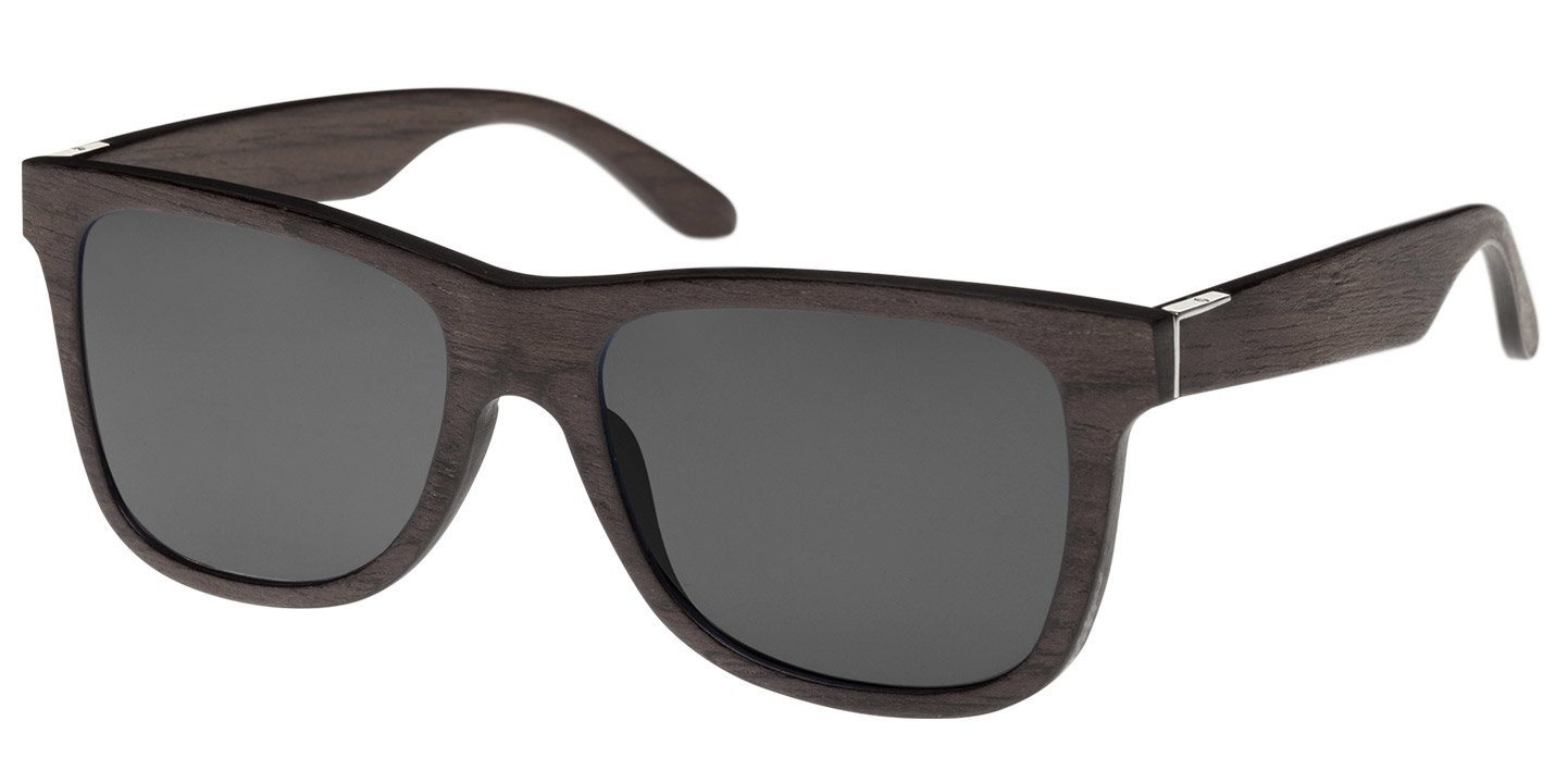 Prinzregenten Sunglasses (wood) (black oak/grey)