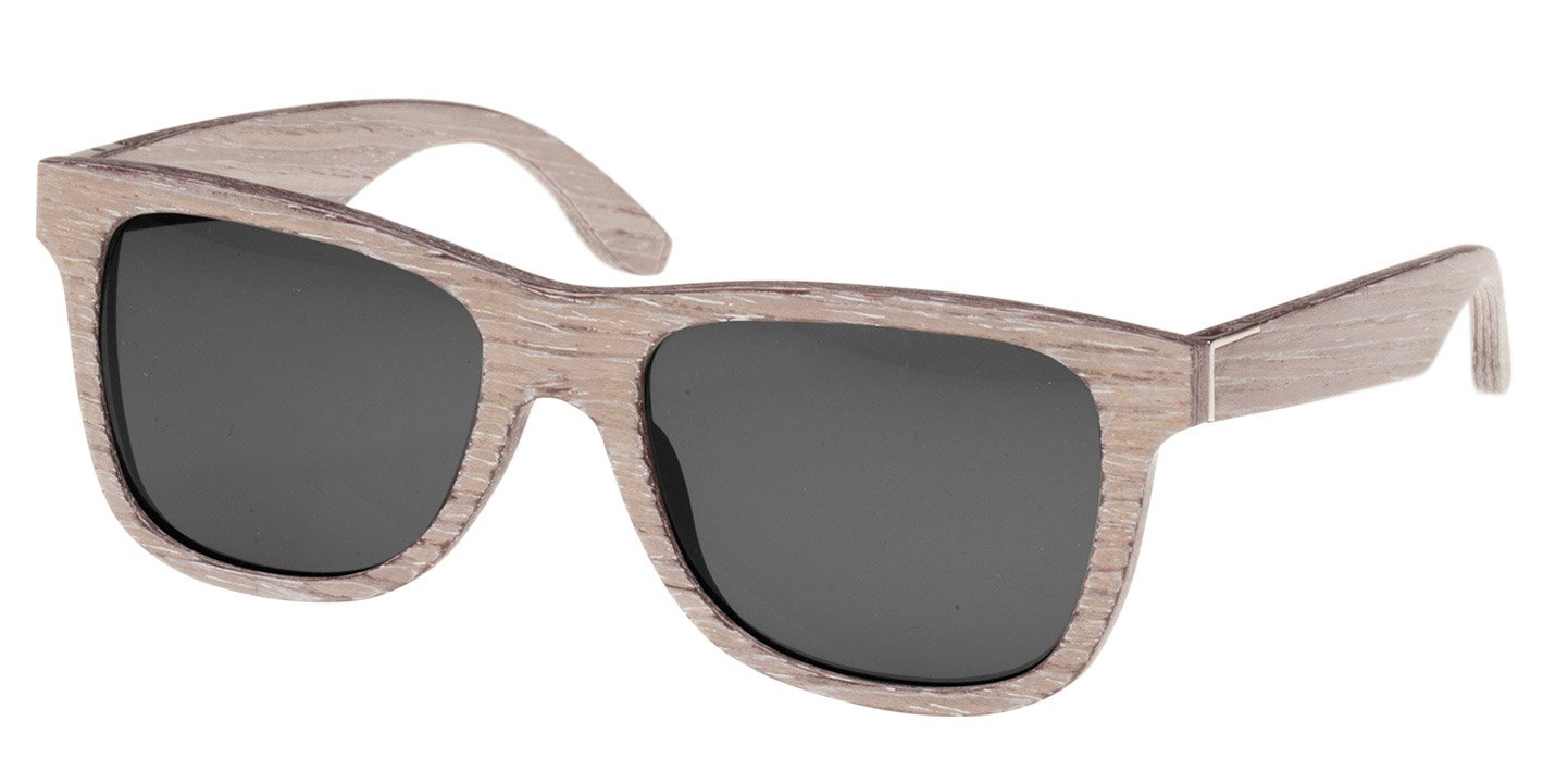Prinzregenten Sunglasses (wood) (chalk oak/grey)