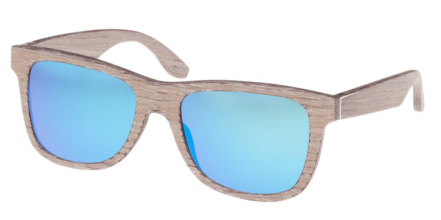 Prinzregenten Sunglasses (wood) (chalk oak/blue)