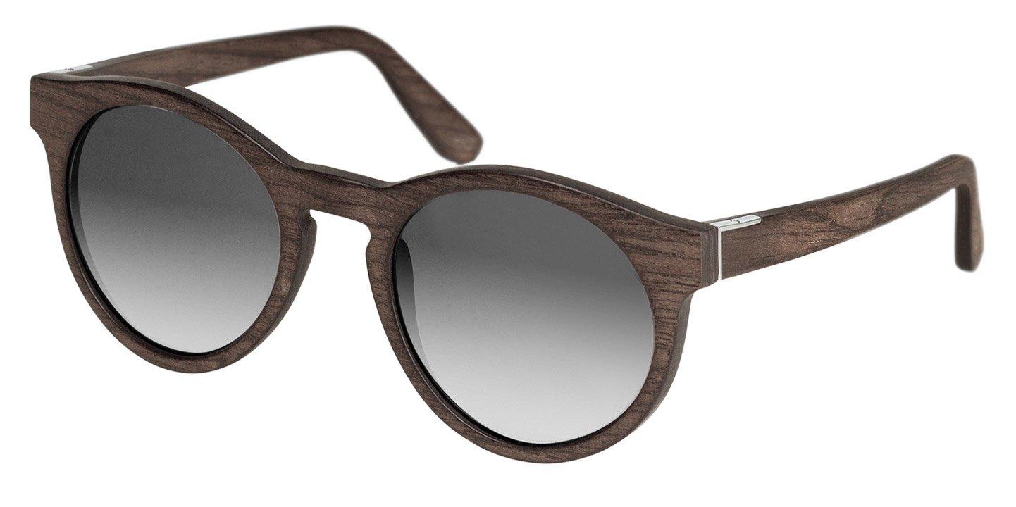 Au Sunglasses (wood) (black oak/grey)