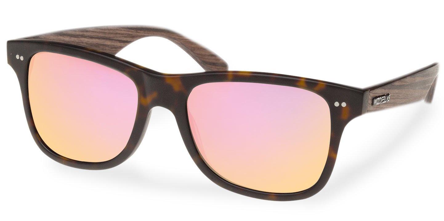 Lehel Sunglasses (wood-acetate) (havanna/rosé)