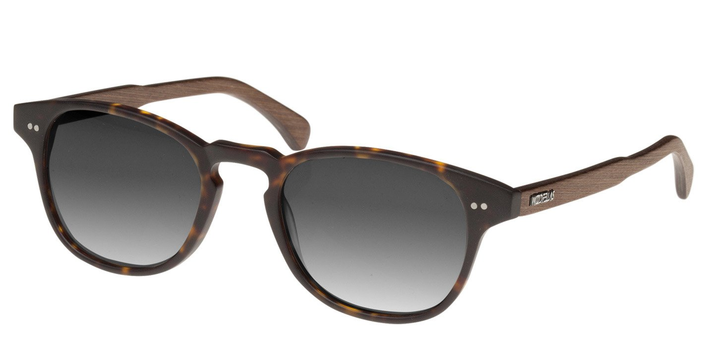 Haidhausen Sunglasses (wood-acetate) (havana/grey)
