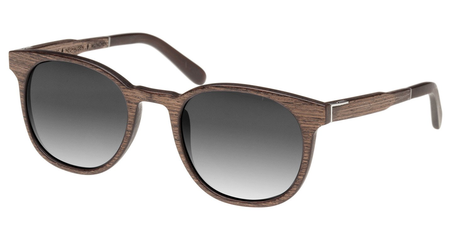 Neuhausen Sunglasses (wood) (walnut/grey)