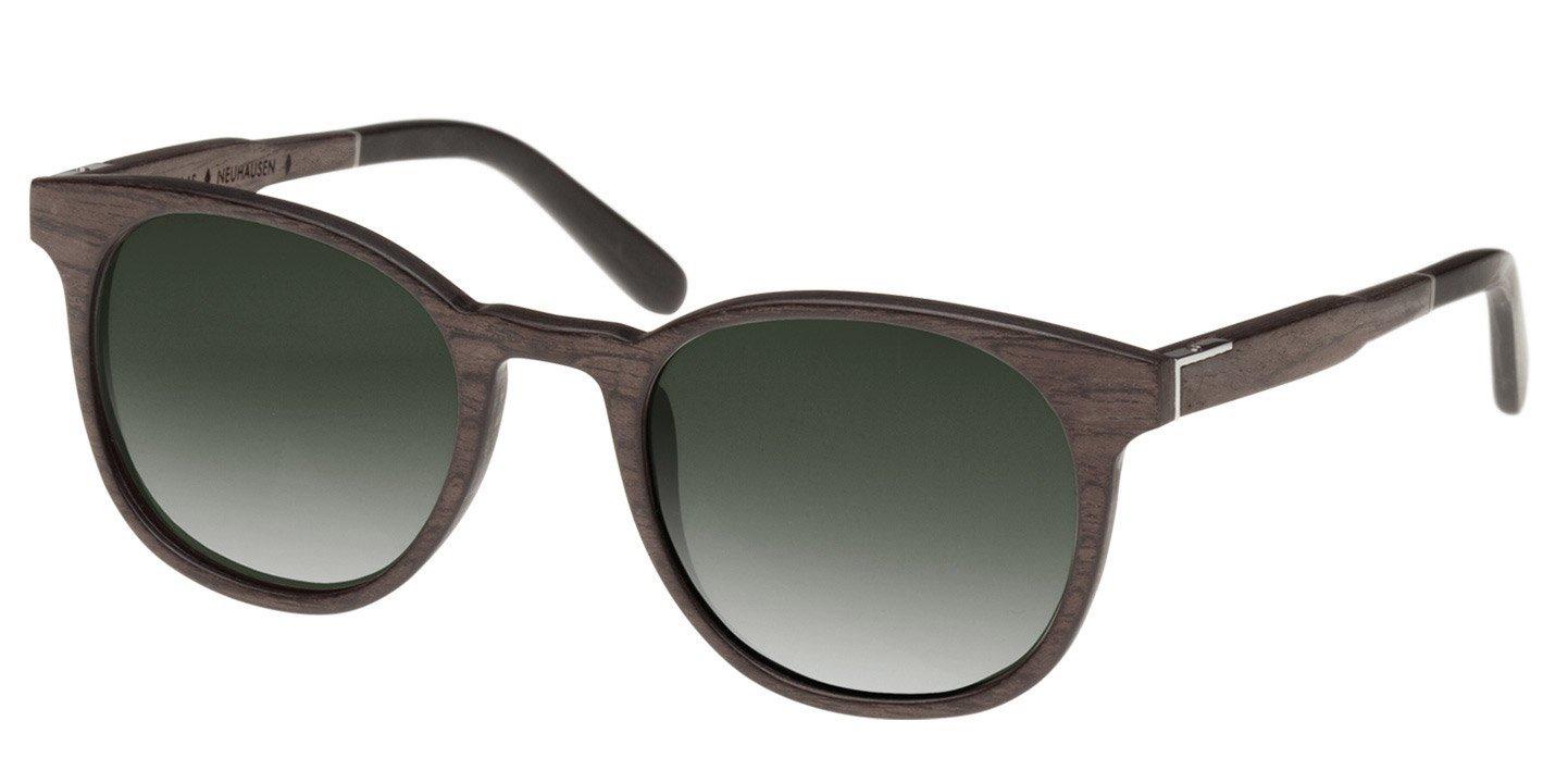 Neuhausen Sunglasses (wood) (black oak/green)
