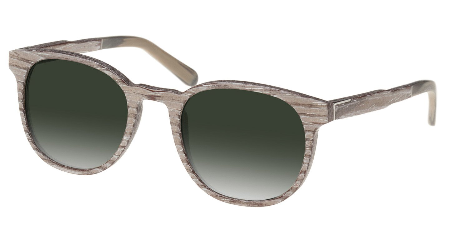 Neuhausen Sunglasses (wood) (chalc oak/green)