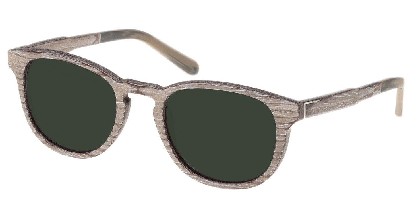 Bogenhausen Sunglasses (wood) (chalc oak/green))