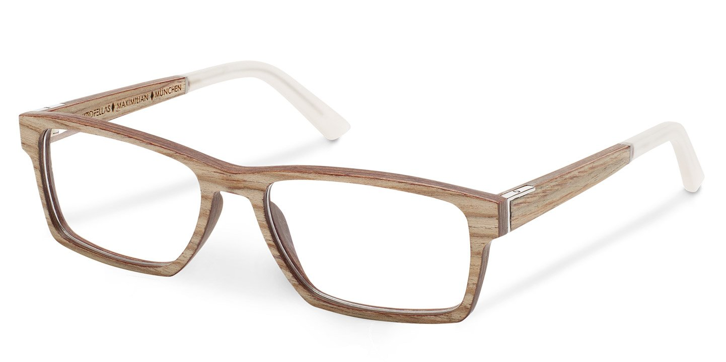 Maximilian Optical (55-18-145) (wood) (limba)