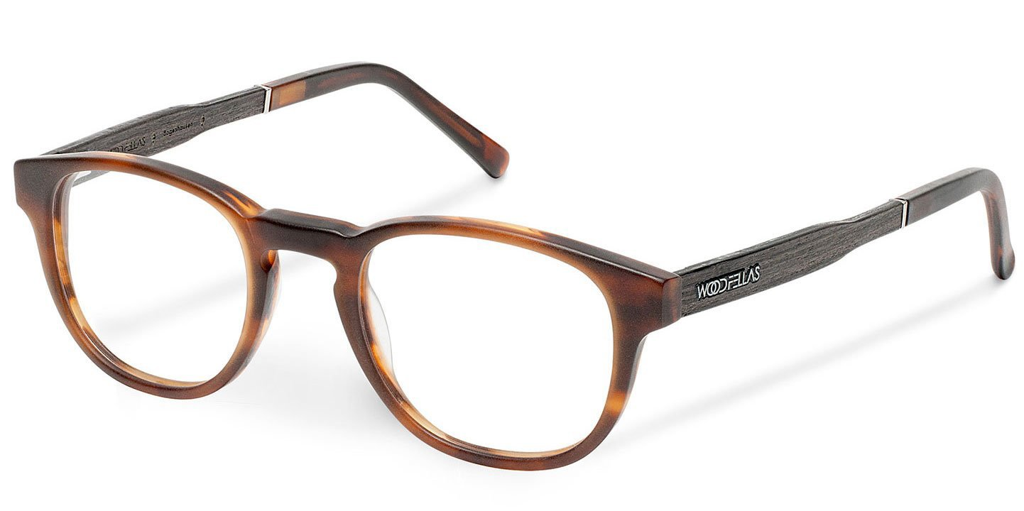 Bogenhausen Optical (49-21-145) (wood-acetate) (ebony/havana)