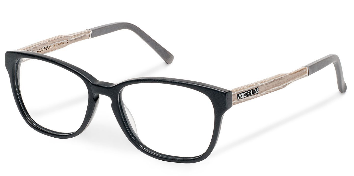 Sendling Optical Wood-Acetate (50-15-140) (wood-bioceta) (black)