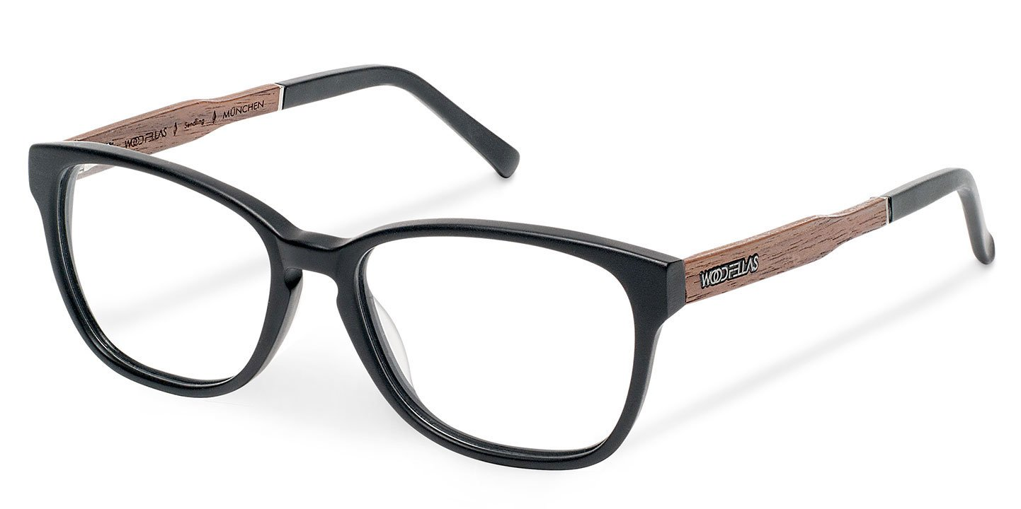 Sendling Optical Wood-Acetate (53-16-145) (wood-bioceta) (black)