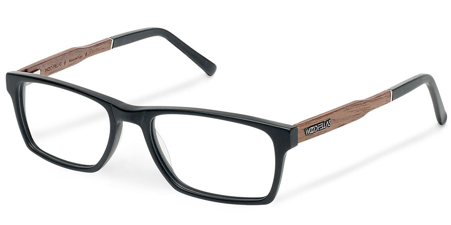 Maximilian Optical Wood-Acetate (57-18-145) (black)