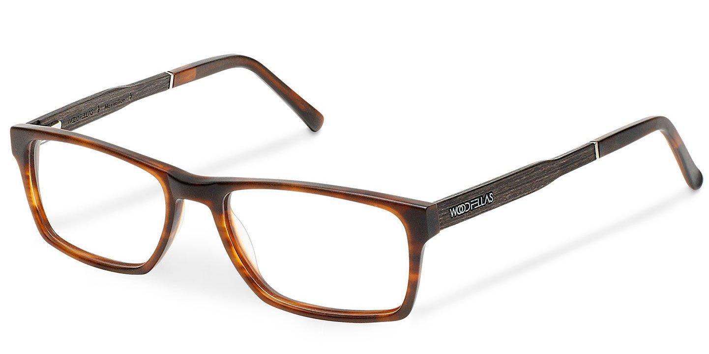 Maximilian Optical Wood-Acetate (57-18-145) (ebony/havana)