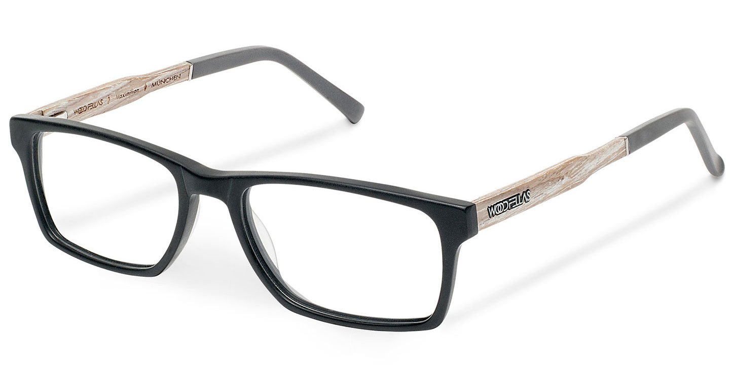 Maximilian Optical Wood-Acetate (57-18-145) (chalk oak/black)