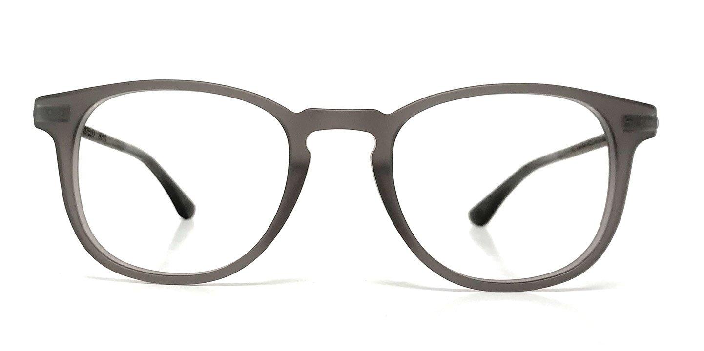 Wood/Acetate Optical Irenic (49-21-145) (curled/grey)